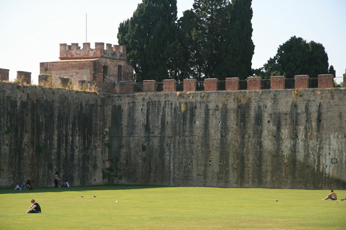 [Picture: Field of Dreams: the castle walls 1]