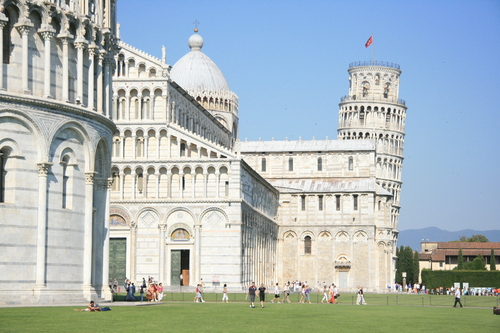 [Picture: Baptistry, Duomo, Bell-Tower]