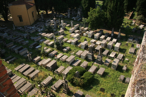 [Picture: Jewish Cemetary 11: From above]