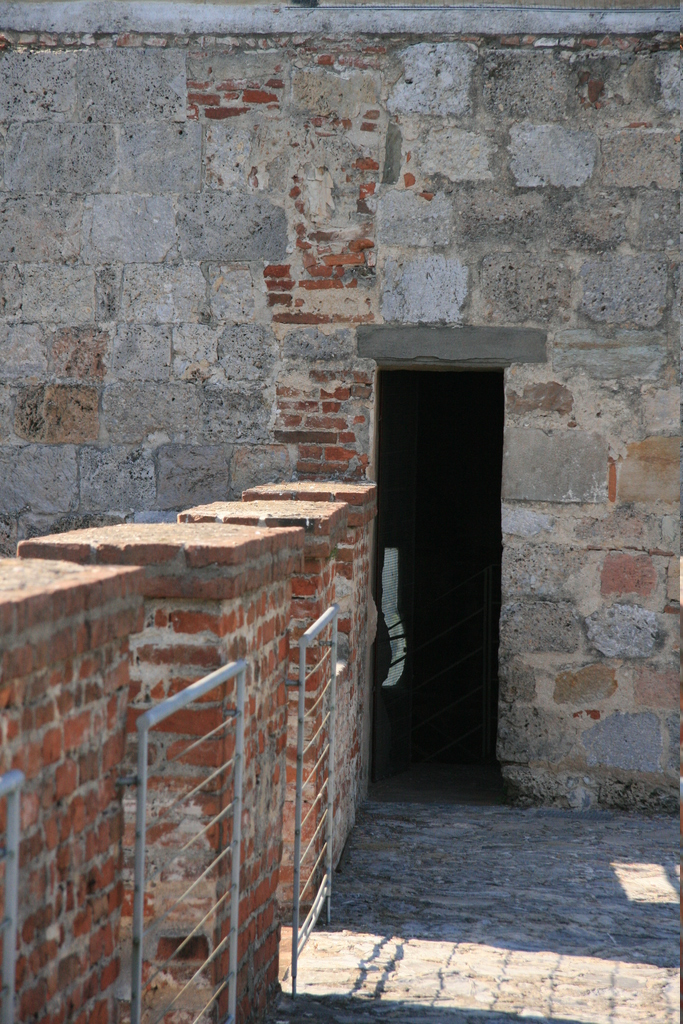 [Picture: city wall tower entrance]