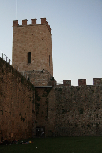 [Picture: Corner Tower]