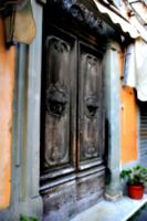 [Picture: Door knockers]
