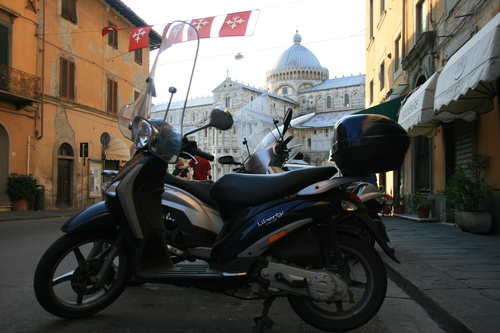 [Picture: Motorbike Cathedral]