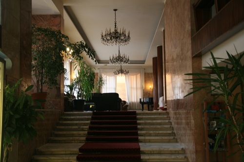 [Picture: Hotel Lobby]