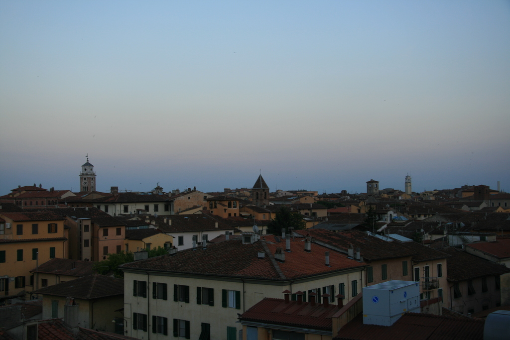 [Picture: View from the Hotel Balcony 7: looking the other way]