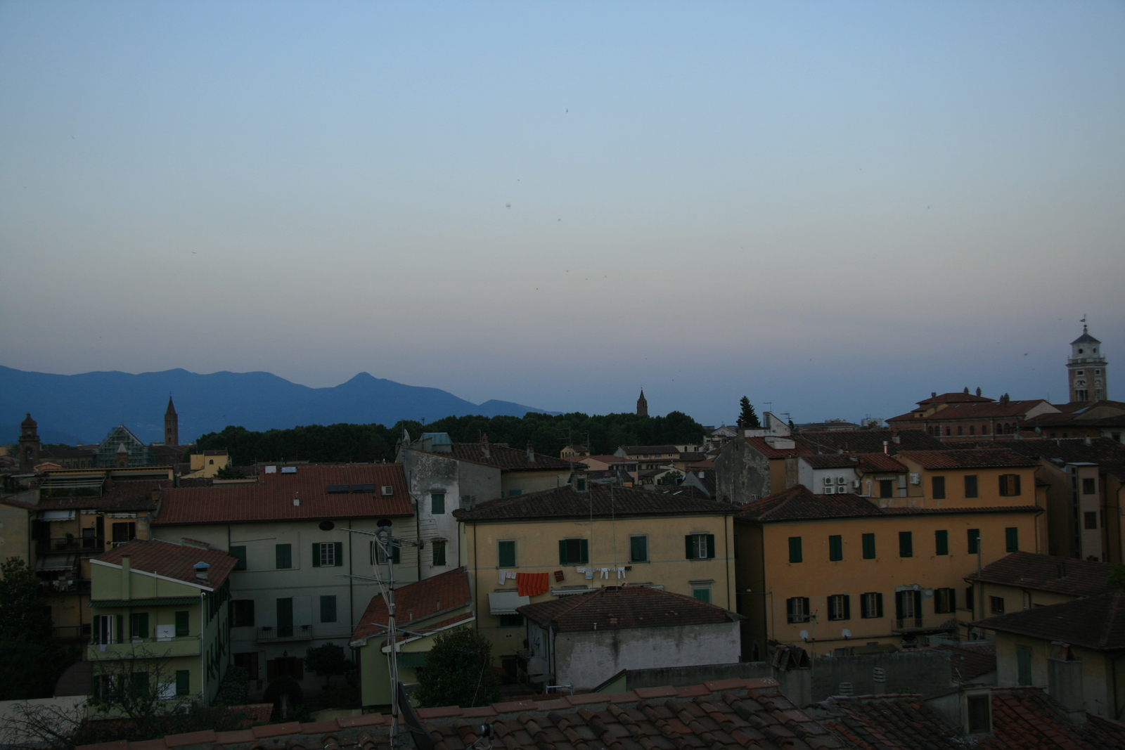 [Picture: View from the Hotel Balcony 9: looking the other way]