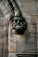 [picture: Carved stone head 1]