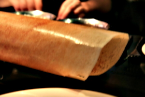 [picture: Blurry giant dosai]