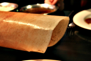 [picture: giant dosai]