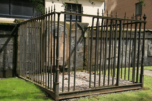[Picture: Peace at last: Ritchie and Cooper Family Tomb]