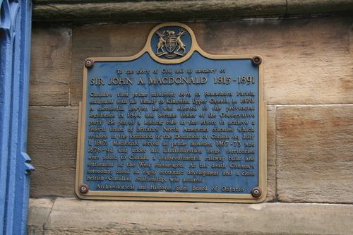 [Picture: Sir John A. Macdonald]