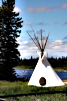 [picture: Teepee beside the River 2]