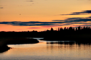 [picture: Moose Factory Sunset 3]