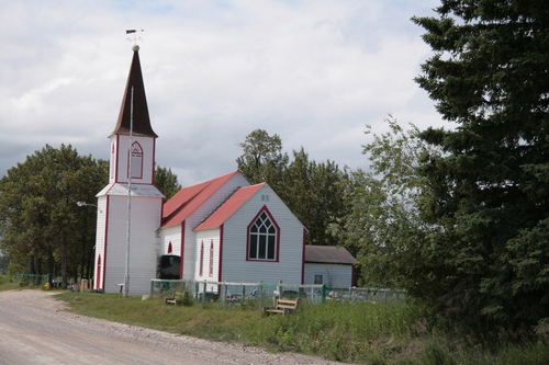 [Picture: Moose Factory Anglican Church]