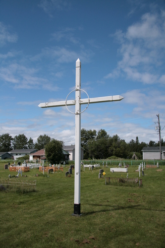 [Picture: Unmarked cross]