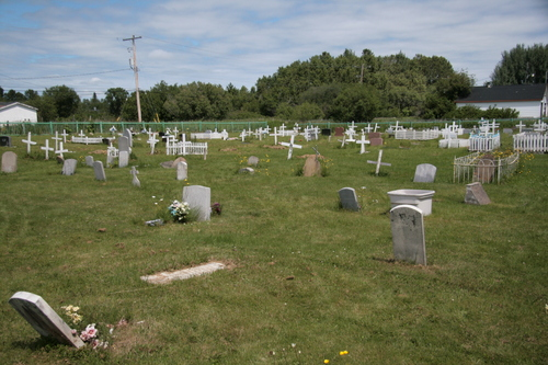 [Picture: Cemetary, wider view]