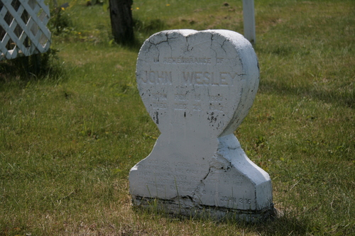[Picture: John Wesley]
