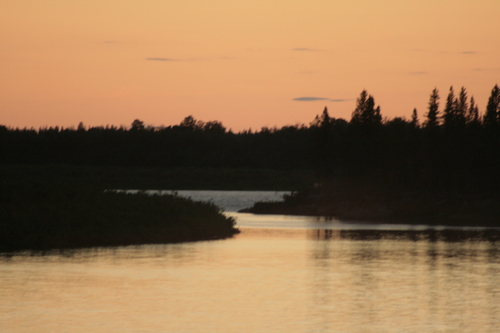 [Picture: Moose River Sunset 1]