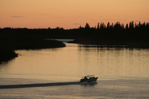 [Picture: Moose River Sunset 2]