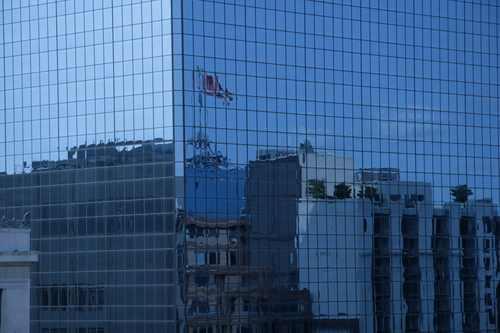 [Picture: Canadian Flag Reflected 1]