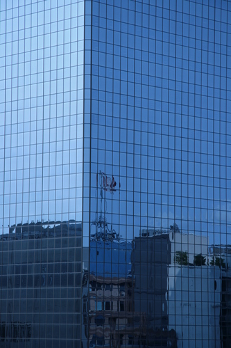 [Picture: Canadian Flag Reflected 2]