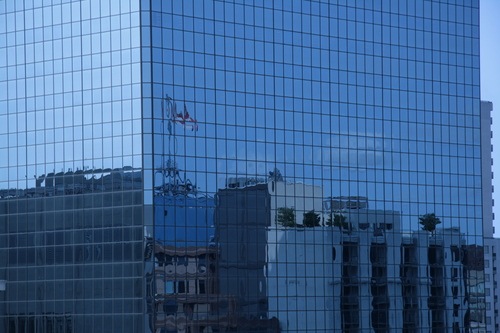 [Picture: Canadian Flag Reflected 4]