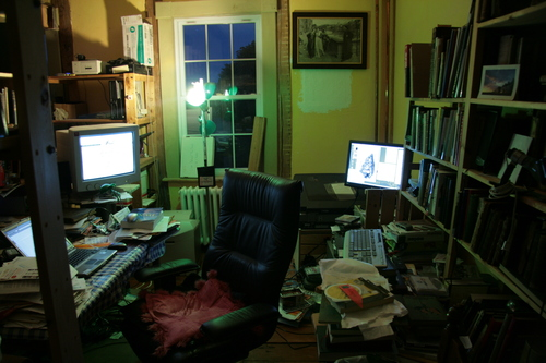 [Picture: Liam's Untidy Office N]