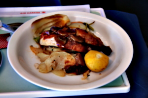 [picture: Air Canada Meal]