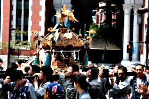 [picture: Procession 9: Mikoshi]