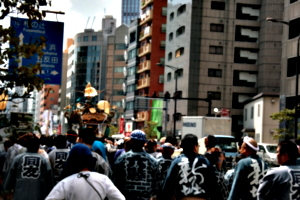 [picture: Mikoshi Procession]