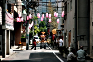 [picture: Lanterns and Mikoshi 2]