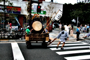 [picture: Pulling the drum]