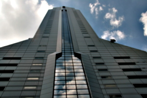 [picture: Phallic building]