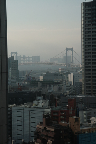 [Picture: View from the hotel window 1]