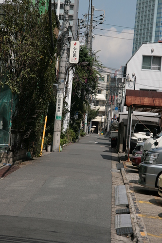 [Picture: Side street]