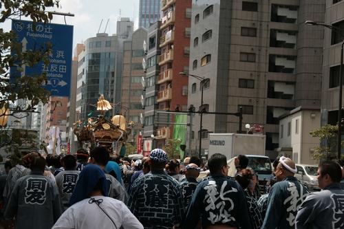 [Picture: Mikoshi Procession]