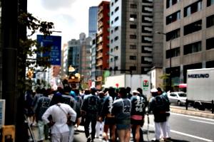 [Picture: Procession leaving]