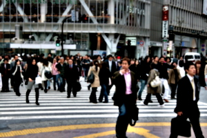 [picture: Big square 10: crossing the street 1]