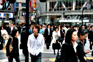 [picture: Big square 11: crossing the street 2]