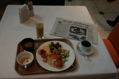 [Picture: Breakfast in Japan 1]