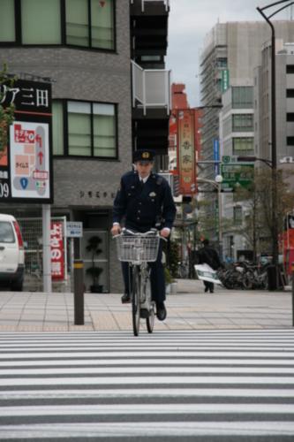 [Picture: Polie bicylist]