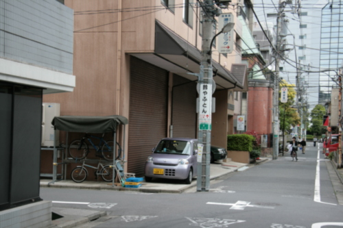 [Picture: Side-street 1]