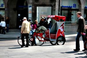 [picture: rickshaw]