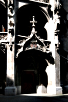 [picture: Gothic fairyland 3: door with arch]