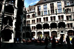 [picture: Gothic fairyland 5: courtyard]