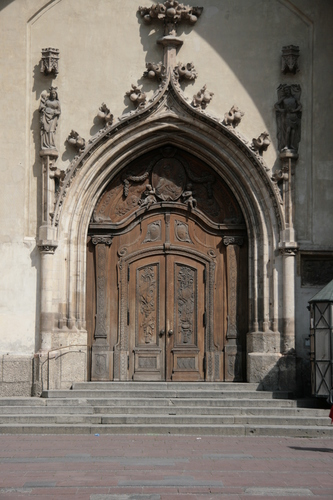 [Picture: Grand cathedral entrance 5]