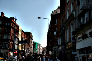 [picture: Busy street]