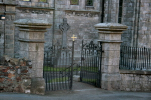 [picture: Howth Church 3: monument]