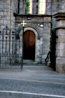[picture: Church gate and door]