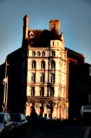 [picture: Old Building in Evening]